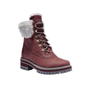 Timberland Courmayeur Valley Shearling Waterproof Lug Sole Boot